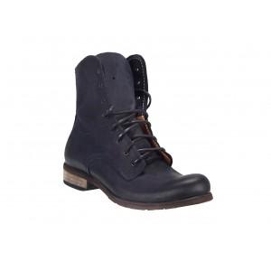 Pánske kožené topánky modré