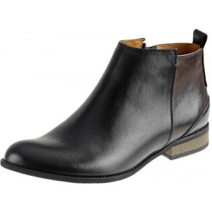 Klasické originálne topánky z prírodnej kože v čiernej farbe