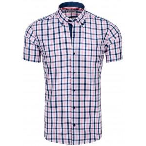 Štýlová károvaná pánska košeľa za skvelú cenu