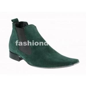 Pánske členkové topánky zelené