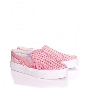Dievčenské tenisky ružovej farby