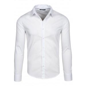 Pánska spoločenská biela košeľa