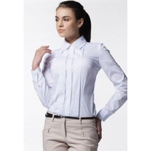 Dámska slávnostná košeľa bielej farby
