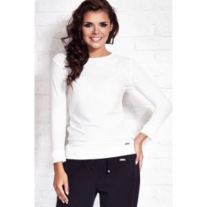 Dámsky spoločenský sveter bielej farby