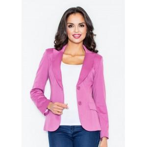 Ružové dámske sako