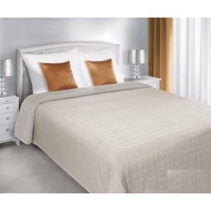 Béžový prehoz na manželskú posteľ