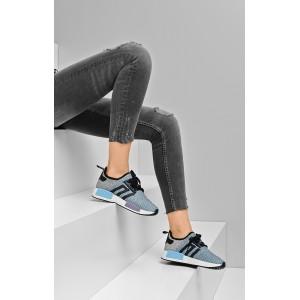Farebné dámske športové topánky šnúrovacie