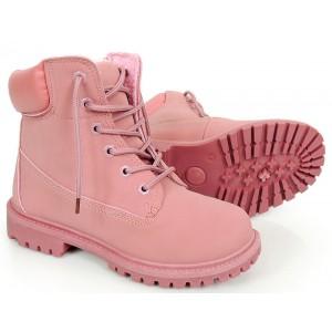 Ružové dámske zateplené workery