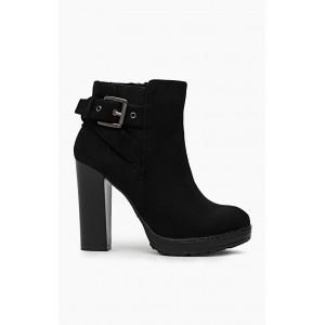 Dámske kotníkové topánky čierne