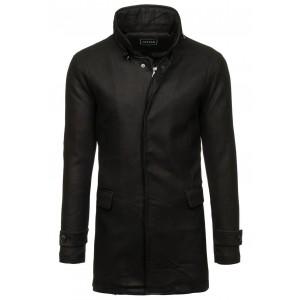 Dlhý pánsky kabát čierny