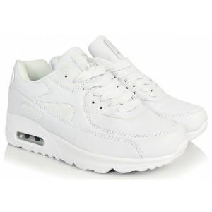 Štýlové športové topánky biele pre dámy