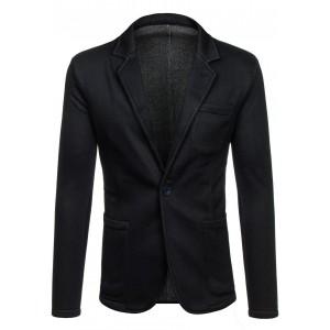 Čierne pánske sako elegantné
