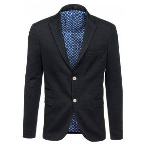 Čierne pánske sako formálneho typu
