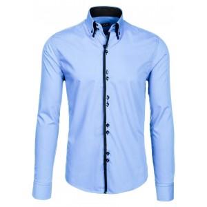 Svetlo modrá košeľa pre každého muža