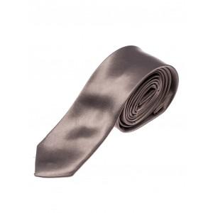 Tmavo sivé pánske kravaty úzke
