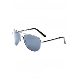 Sivé pánske slnečné okuliare pilotky