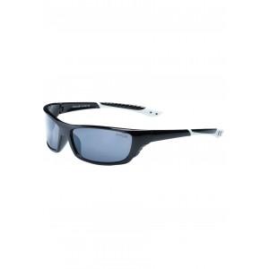 Športové pánske slnečné okuliare čierne