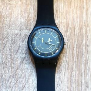 Dámske silikónové hodinky so žltým smajlíkom