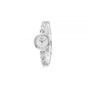 Strieborné dámske hodinky z chirurgickej ocele