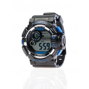 Pánske športové hodinky čiernej farby