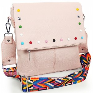 Dámske crossbody kabelky v ružovej farbe