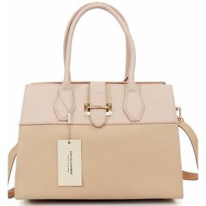 Ružová dámska kabelka do ruky aj cez plece