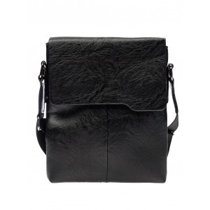 Pánske crossbody tašky čiernej farby