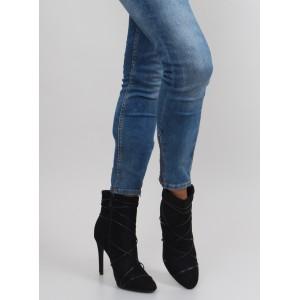 Čierna dámska spoločenská obuv