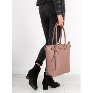 Dámska kabelka v ružovej farbe