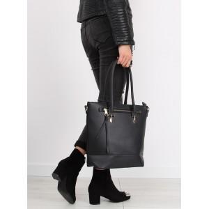 Moderná dámska kabelka v čiernej farbe