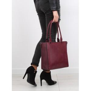 Moderné dámske kabelky na rameno v bordovej farbe vhodné na každý deň
