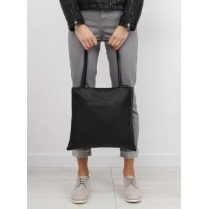 Dámske nákupné kabelky shopper v čiernej farbe