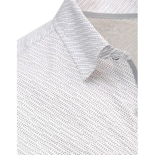 Biela košeľa pánska s dlhým rukávom