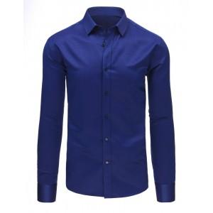 Pánska košeľa v tmavo modrej farbe