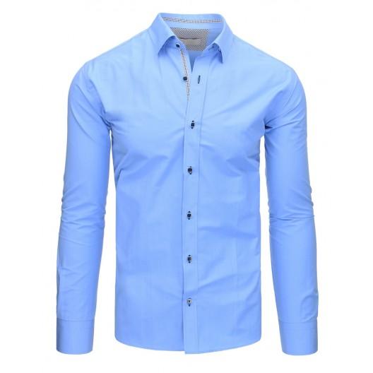 Pánska košeľa slim modrej farby
