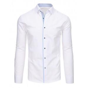 Elegantné košele v bielej farbe