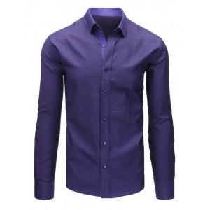 Luxusné pánske košele fialovej farby