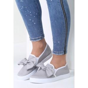 Slip on obuv na leto sivá