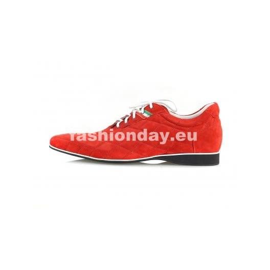 Športová pánska obuv - červené