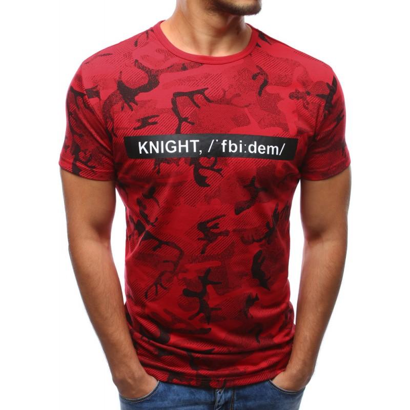 6cd9525f7e2d Trendy trička červenej farby