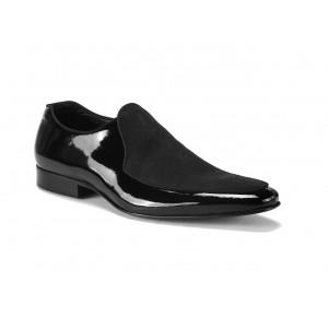Kožené topánky mokasíny