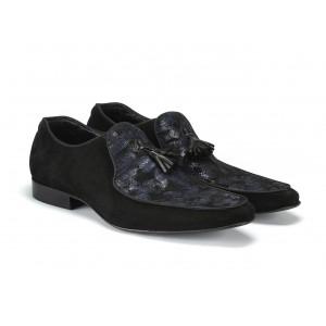 Pánske kožené topánky mokasíny
