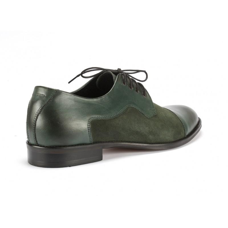 Talianske topánky v zelenej farbe a1ec7cd25c0