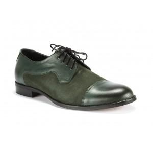 Talianske topánky v zelenej farbe
