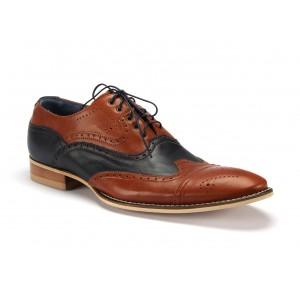 Pánske kožené topánky do spoločnosti