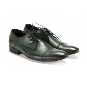 Šnúrovacie topánky kožené COMODO E SANO