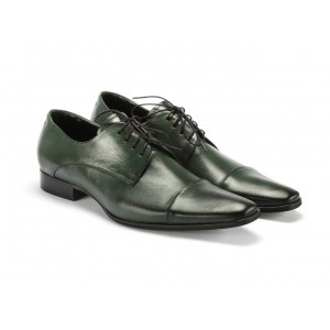 Kožená obuv zelenej farby COMODO E SANO