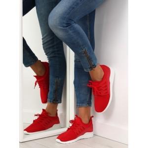 Dámske botasky červené