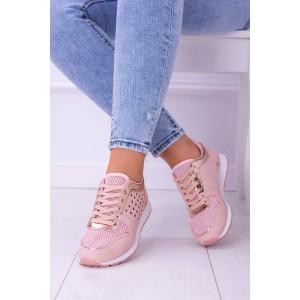 Štýlové tenisky ružovej farby