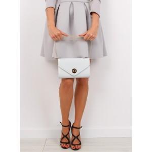 Listová kabelka sivej farby